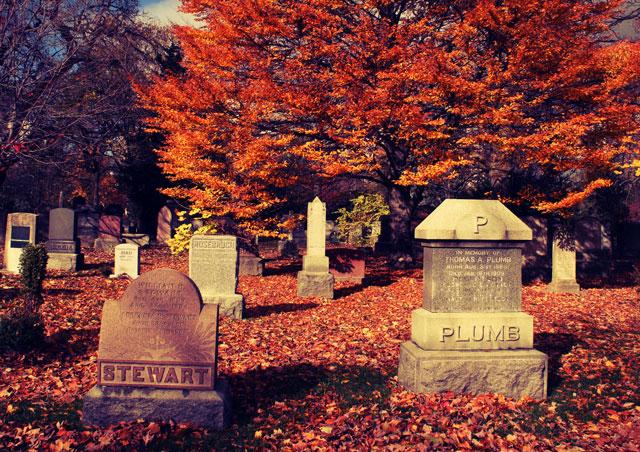 mount pleasant cemetary headstones