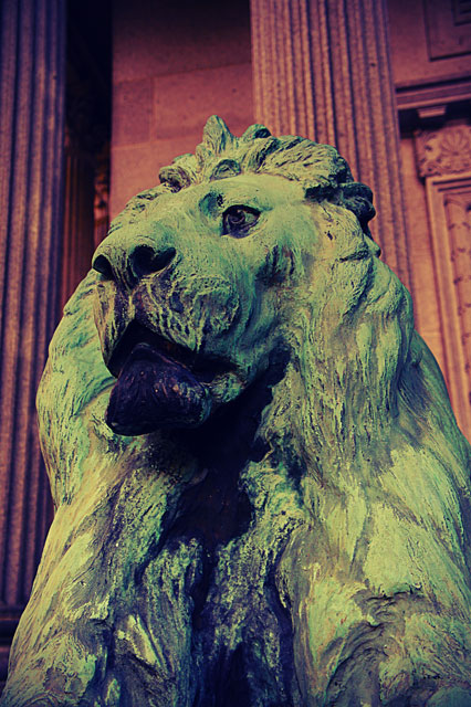 mount pleasant cemetery lion