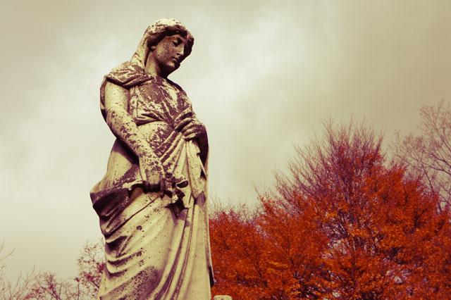 mount pleasant cemetery madonna