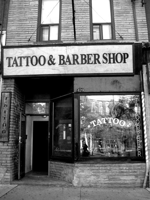 Sal's Tattoo & Barber, Toronto, Ontario, Canada, 2010