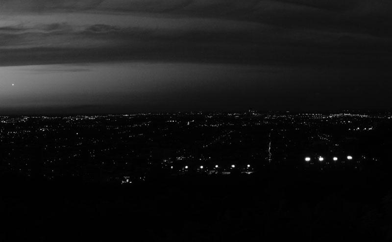 montreal-mont-royal-night