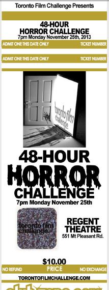 toronto horror challenge