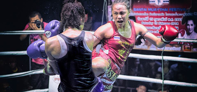 Sawsing Sor Sopit vs. Farida Okiko - Results From Santai Festival 2014